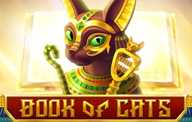 Слот - Book of cats